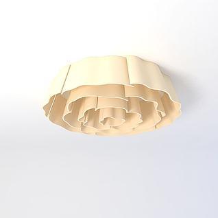 吸顶灯3d模型