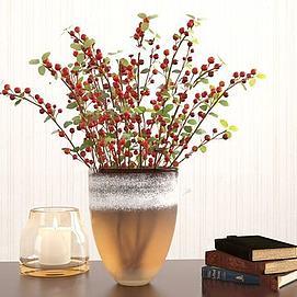 精美花瓶装饰3d模型