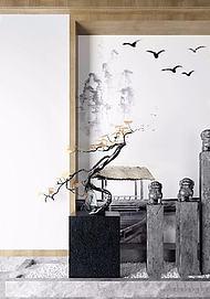 中式装饰品3d模型