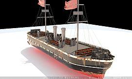 甲午战争军舰模型
