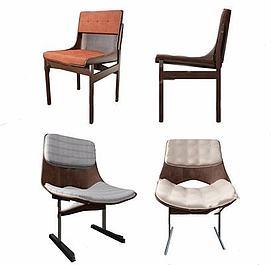 现代休闲椅模型