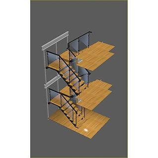 720楼梯3d模型