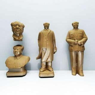 毛主席雕塑3d模型