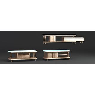 实木柜子3d模型