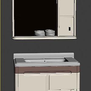 浴室柜模型