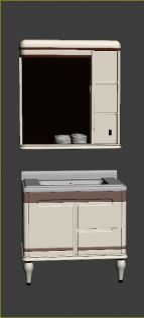 浴室柜模型3d模型