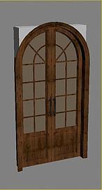 拱形门3d模型