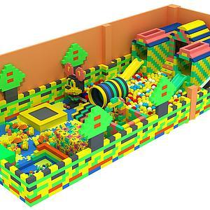 积木乐园模型