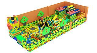 积木乐园模型3d模型