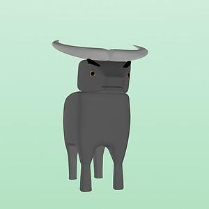 牛牛3d模型