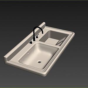 盥洗柜模型