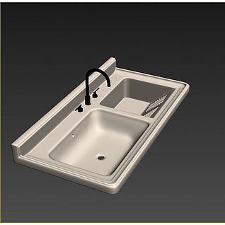 盥洗柜3d模型3d模型