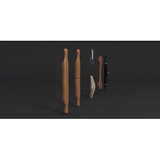 拉手3d模型