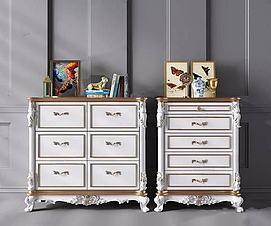 欧式装饰柜模型