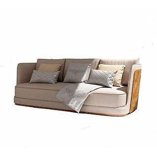 品牌沙发3d模型