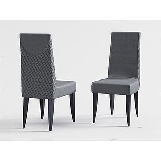 休闲椅子3d模型