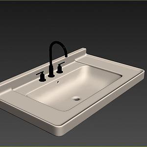 盥洗盆模型