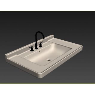 盥洗盆3d模型