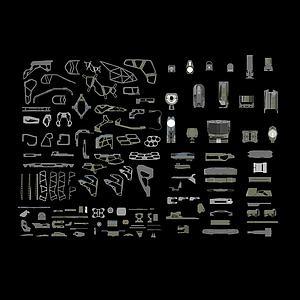 游戲裝備武器庫模型3d模型