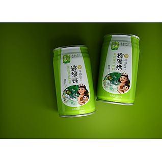 饮料包装3d模型