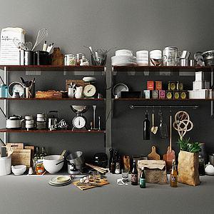 3d厨房器具模型