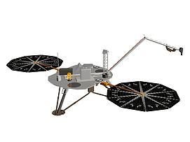 美国凤凰号火星探测器模型