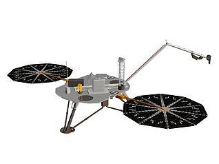 美国凤凰号火星探测器模型3d模型