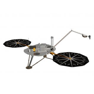 美国凤凰号火星探测器3d模型
