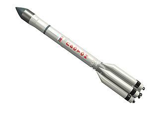 质子号运载火箭模型3d模型