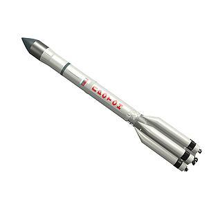 质子号运载火箭3d模型