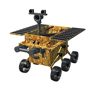 玉兔号探测器模型