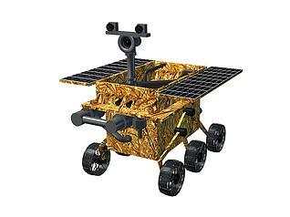 玉兔号探测器模型3d模型