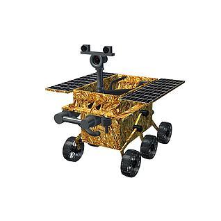 玉兔号探测器3d模型