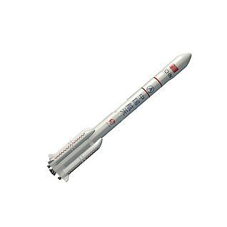 长征五号火箭3d模型