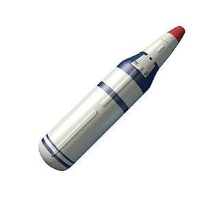 巨浪一号潜地导弹模型3d模型