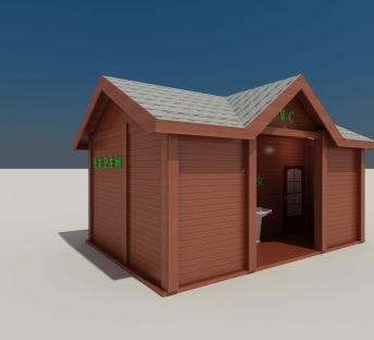 木屋卫生间