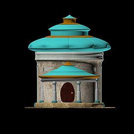 小城堡模型