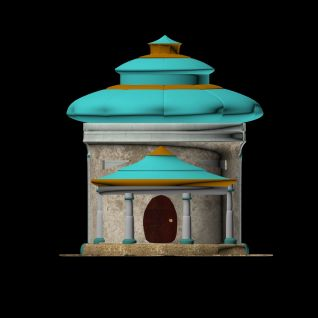小城堡3d模型