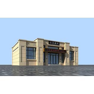 公厕3d模型
