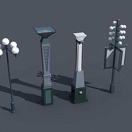 景观路灯模型