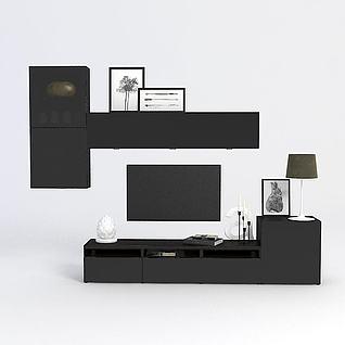 简约家具3d模型
