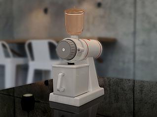 磨豆机3d模型