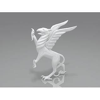 狮鹫3d模型
