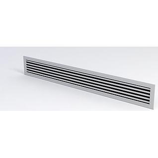 中央空调风口3d模型3d模型