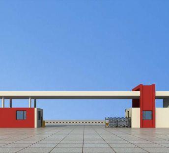 厂区大门入口