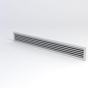 中央空调风口模型3d模型
