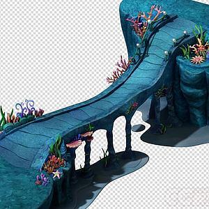 海?#36164;?#30028;之皇宫引桥模型