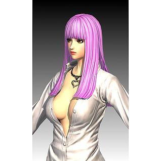 美女3d模型
