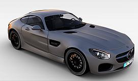 奔驰AMGGT3d模型