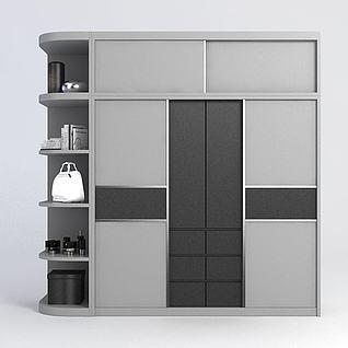 大衣柜3d模型
